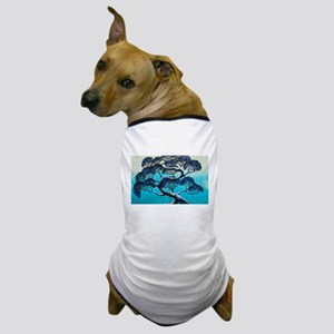 Blue Bonsai Serenity Dog T-Shirt