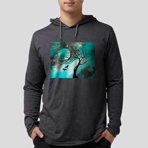 Dragonfly Bliss Mens Hooded Shirt