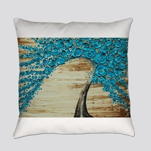 The Water Blossom Tree Everyday Pillow