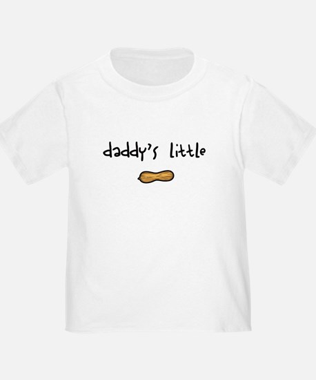 Daddy's Little Peanut Toddler Tee
