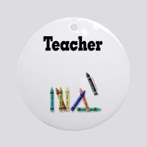 Teacher Keepsake (Round)