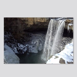 Noccalula Falls in Winter Postcards (Package of 8)
