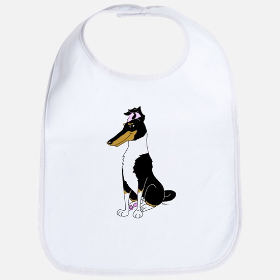 Smooth Tricolor Collie Bib