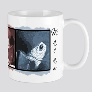 TriColor Art Severe Macaw Mug