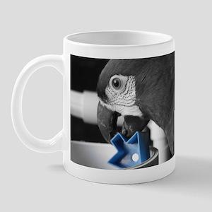 blue Severe Macaw Mug