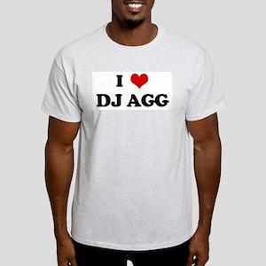 I Love DJ AGG Light T-Shirt