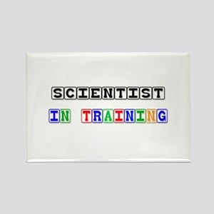 Scientist In Training Rectangle Magnet