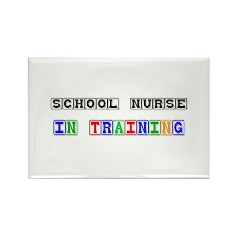School Nurse In Training Rectangle Magnet