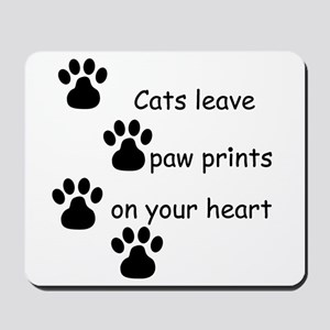 Cat Prints Mousepad