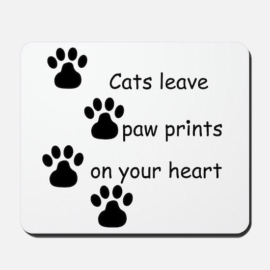Cat Prints Mousepad