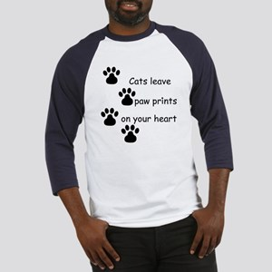 Cat Prints Baseball Jersey