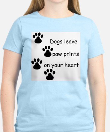 Dog Prints Women's Light T-Shirt