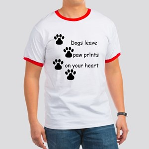 Dog Prints Ringer T