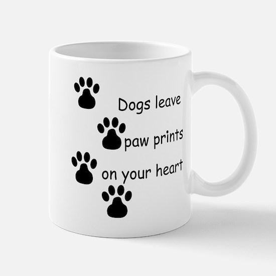 Dog Prints Mug