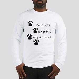Dog Prints Long Sleeve T-Shirt
