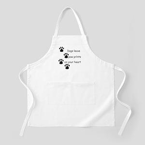 Dog Prints BBQ Apron