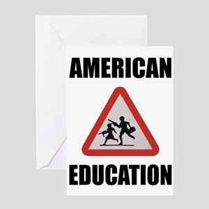 American Education Greeting Card