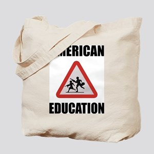 American Education Tote Bag