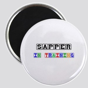 Sapper In Training Magnet