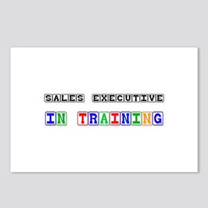 Sales Executive In Training Postcards (Package of