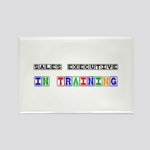 Sales Executive In Training Rectangle Magnet