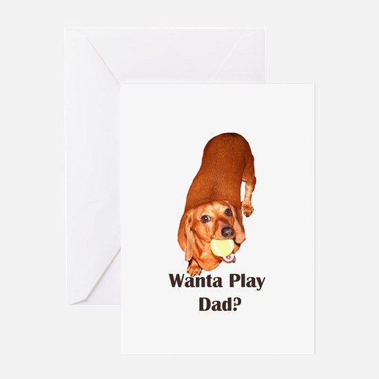 Funny Papa to be Greeting Card