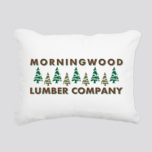 MORNINGWOOD Rectangular Canvas Pillow