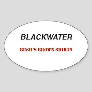 Blackwater Oval Sticker