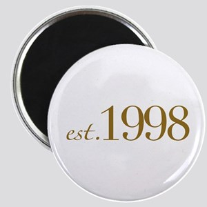 Est. 1998 (10th Birthday) Magnet