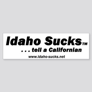 Idaho Sucks - Bumper Sticker