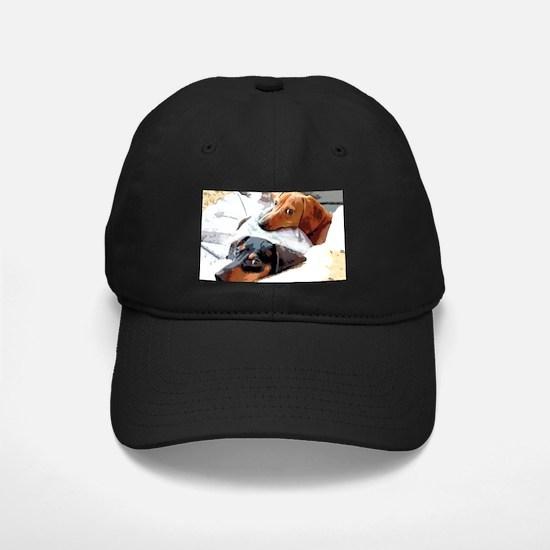 Naptime Love Dachshunds Baseball Hat