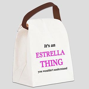It's an Estrella thing, you w Canvas Lunch Bag