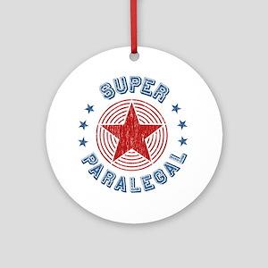 Super Paralegal Ornament (Round)