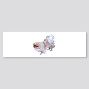 Pekingese Dog Bumper Sticker