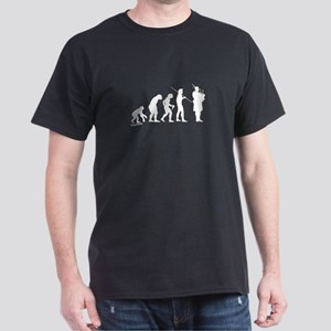 Bagpipe Evolution Dark T-Shirt
