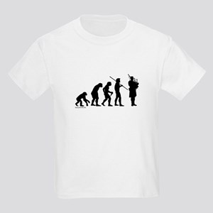 Bagpipe Evolution Kids Light T-Shirt