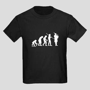 Bagpipe Evolution Kids Dark T-Shirt
