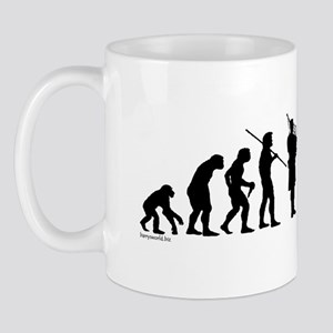 Bagpipe Evolution Mug