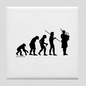 Bagpipe Evolution Tile Coaster