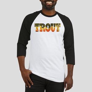 Brook TROUT Baseball Jersey