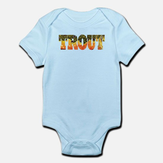 Brook TROUT Infant Bodysuit