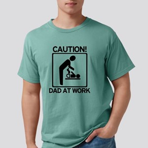 Caution! Dad at Work! Baby Di T-Shirt