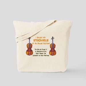 Stradivarius / Auction Tote Bag