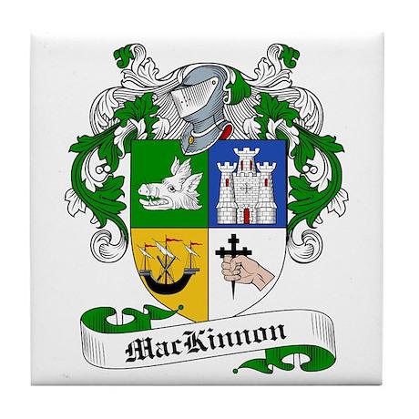MacKinnon Family Crest Tile Coaster