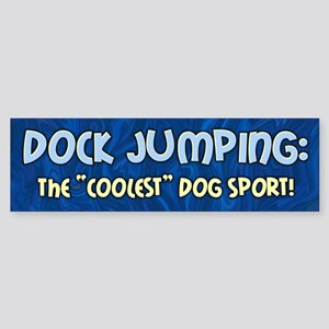 Coolest Dog Sport Bumper Sticker