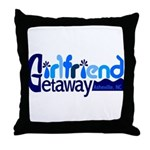 Girls Weekend Asheville Throw Pillow