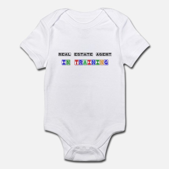 Real Estate Agent In Training Infant Bodysuit
