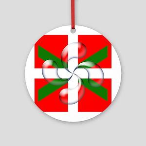 """Lauburu """"bubble"""" Ornament (Round)"""