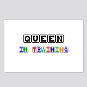 Queen In Training Postcards (Package of 8)