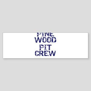 Boy Scouts Cub Scouts Pinewood Pit Bumper Sticker